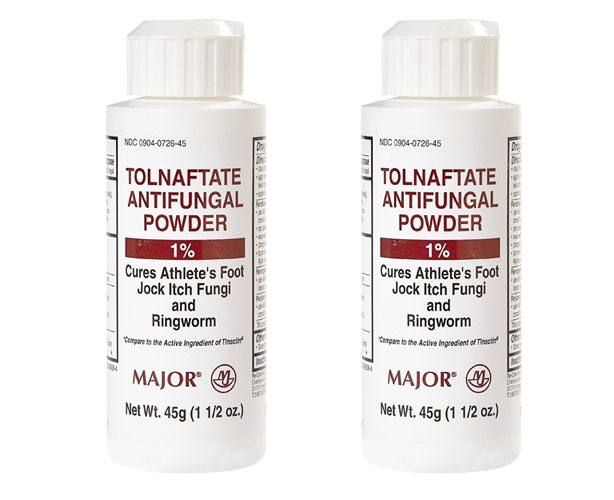 Major Pharmaceuticals Tolnaftate 1% Antifungal Powder