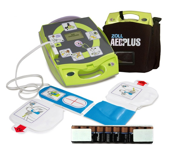 Shop Zoll AED Plus Defibrillator with Kit