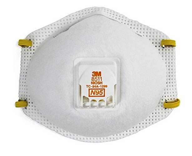 3M 3M N95 Particulate Respirator with Cool Flow Valve