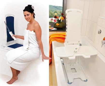 Covers for the Bellavita Auto Bath Tub Chair Seat Lift