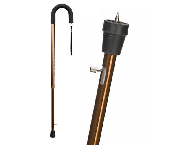 Mabis DMI Retractable Ice Tip Cane