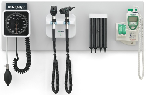Green Series 777 Wall System w/Coaxial Ophthalmoscope