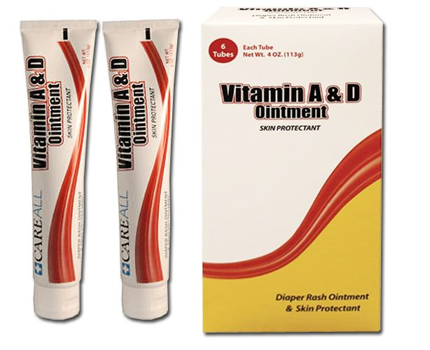 New World Imports Vitamin A&D Ointment, 4 oz Tube