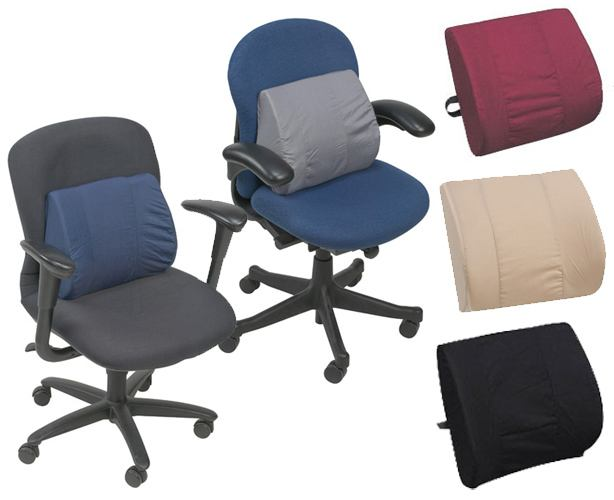 Mabis DMI Contoured Lumbar Support Cushion