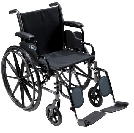 Drive Medical Cruiser III Wheelchair - 18 in. Width
