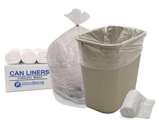 Pitt Plastics Trash Bags, High Density Coreless Rolls