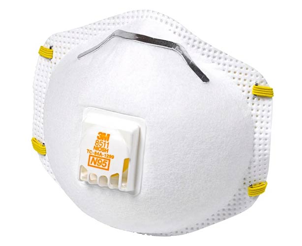 3M N95 Particulate Respirator with Cool Flow Valve