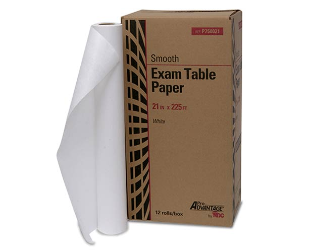 Dynarex Pro Advantage Exam Table Paper, Smooth