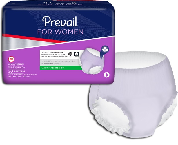 Incontinence Samples Samples - Prevail Underwear for Women