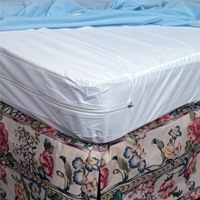 Mabis DMI Zippered Protective Mattress Cover