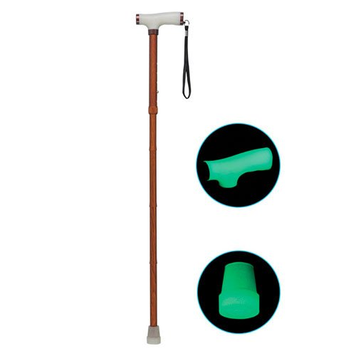 Glow and Go Folding Cane