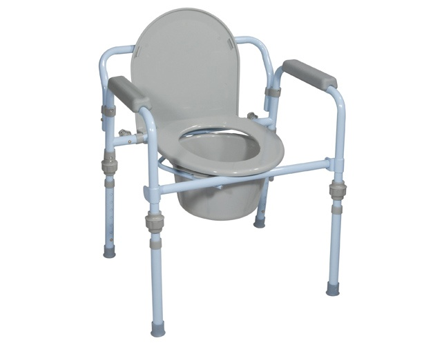 Folding steel commode drive medical - Commode industrielle metal ...