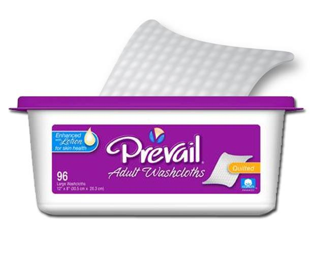 Prevail Premium Adult Washcloths