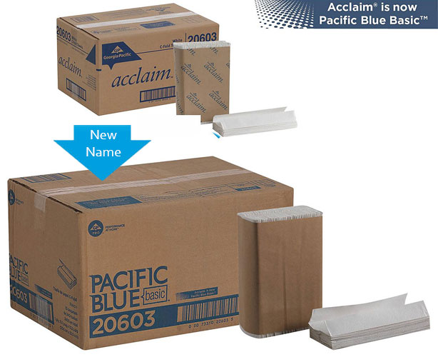 Pacific Blue Basic C-Fold Paper Towels