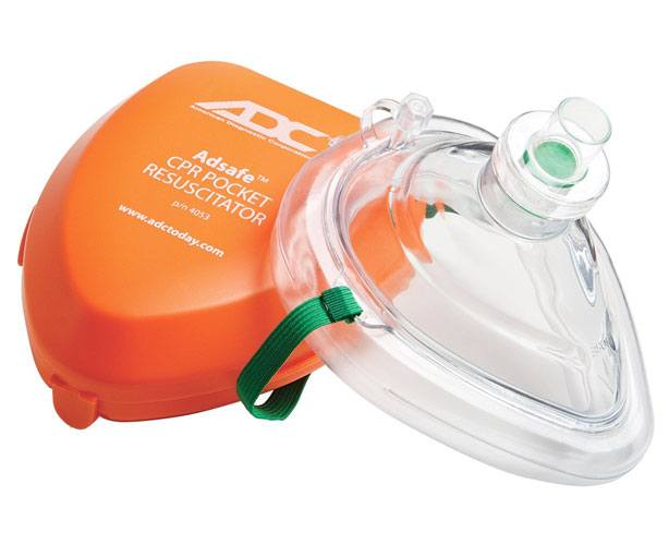 American Diagnostic Corp Adsafe CPR Pocket Resuscitator