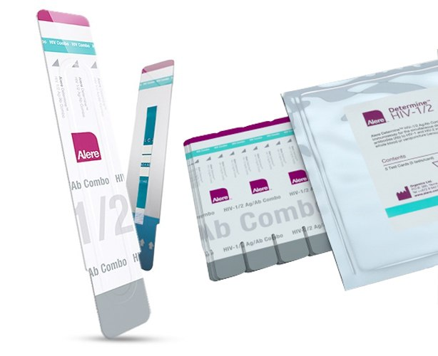 Alere Alere POC Determine HIV-1/2 Ag/Ab Combo Rapid Test