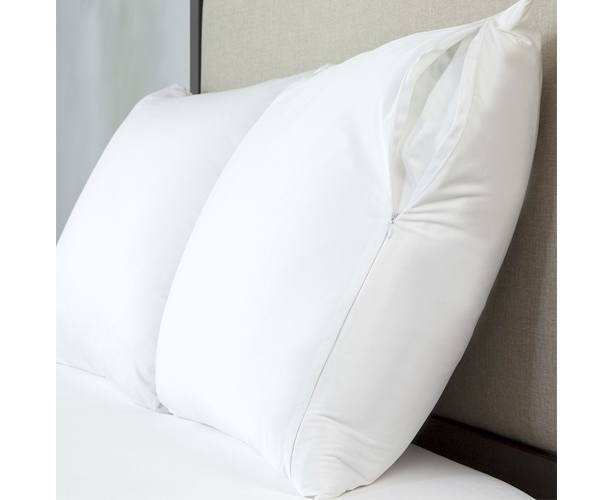 Allerzip Bedding Allerzip Smooth Pillow Protectors, Bed Bug Proof