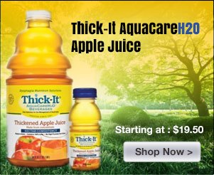 Thick-It Aquacare H20 Apple Juice