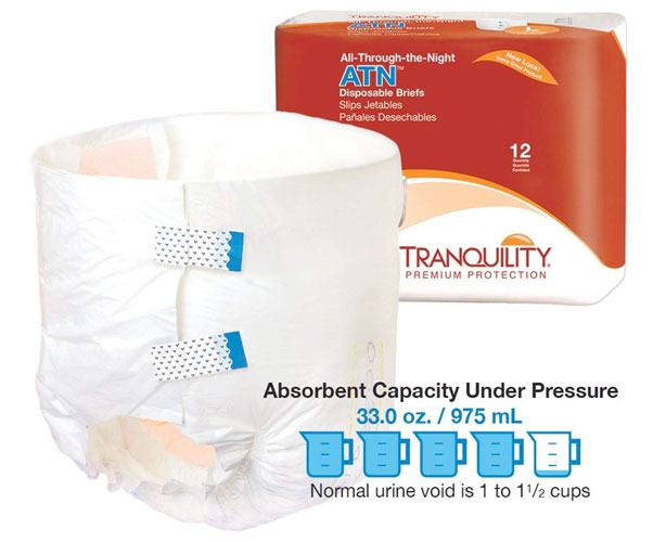 ATN All-Through-the-Night Disposable Briefs