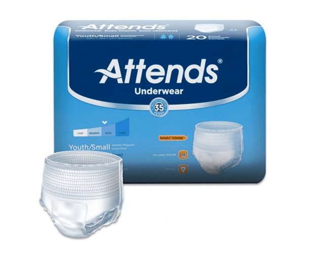 Attends Attends Underwear, Super Plus Absorbency