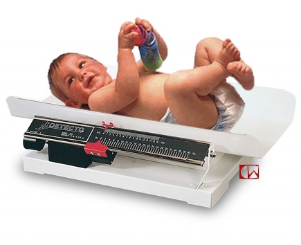 Detecto Scales Detecto Baby Scale 253 Weigh Beam