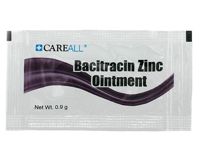 New World Imports Bacitracin Ointment, Foil Packs