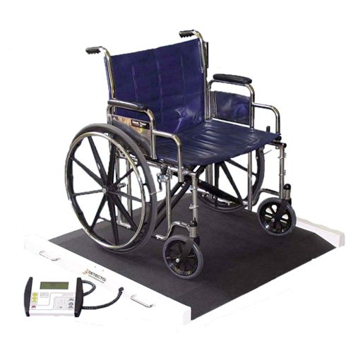 Detecto Scales BRW1000 Portable Bariatric Wheelchair Scale