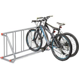 A heavy duty bike rack shows part of our NY State contract for group 21510 which consists of outdoor and site furniture.