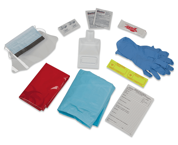 Biobloc Blood & Body Fluid Spill Kits | Covidien Medical