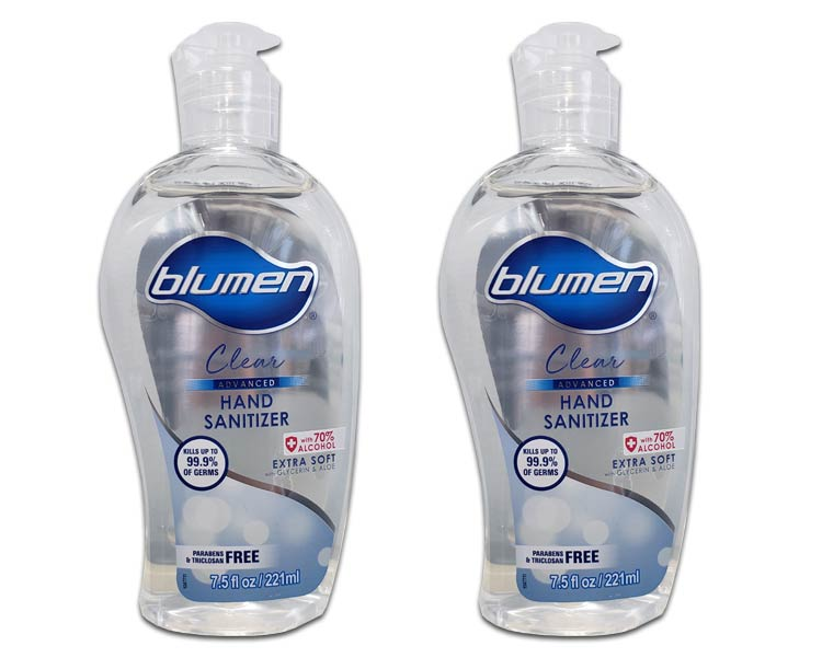 Blumen Hand Sanitizer Blumen Advanced Hand Sanitizer, 7.5 oz with Flip Cap