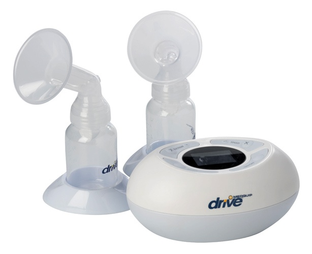 Drive Medical GentleFeed Plus Dual Channel Breast Pump