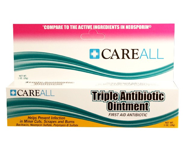 NEW WORLD IMPORTS Careall Triple Antibiotic Ointment
