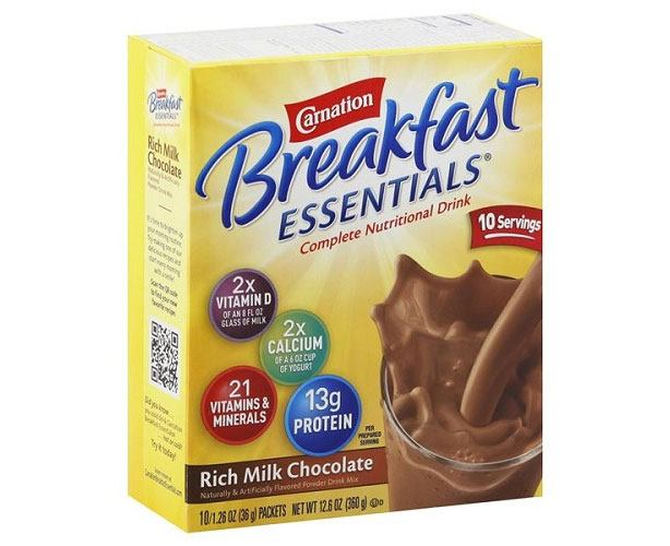 Nestle Nutrition Carnation Breakfast Essentials Powder Drink Mix