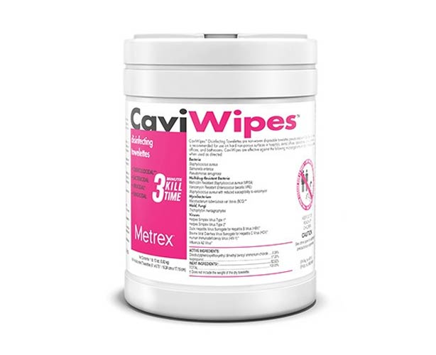 Metrex Disinfectants CaviWipes Disinfecting Wipes