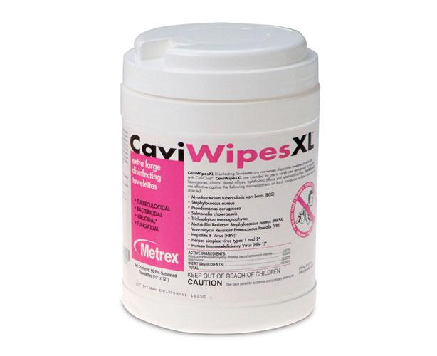 Metrex Disinfectants CaviWipes XL Surface Disinfectant Wipes