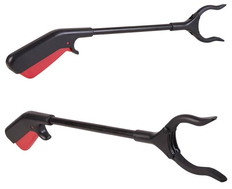 Mabis DMI Ergonomic Plastic Reacher