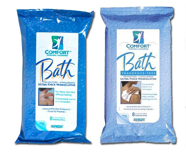 Comfort Bath Wipes