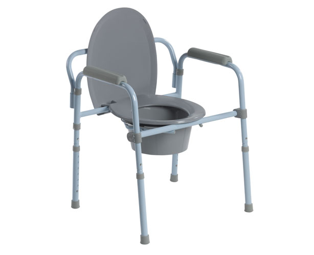 Drive Medical Drive Medical Folding Steel Commode