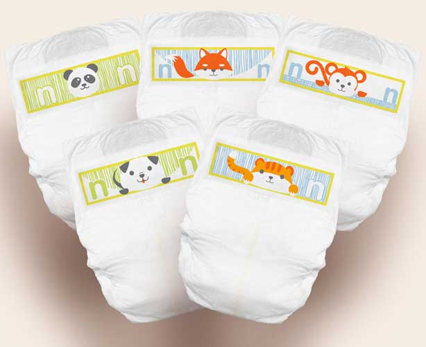 Samples - Cuties Premium Baby Diapers