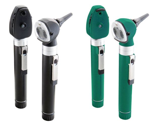 American Diagnostic Corp ADC Diagnostix LED Pocket Otoscope & Ophthalmoscope Set