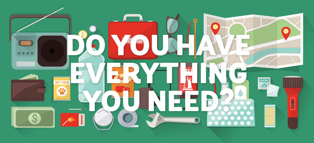 Do you have everything you need?