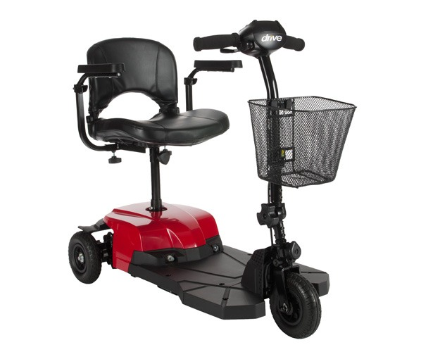 Drive Medical Bobcat 3 Wheel Transportable Scooter