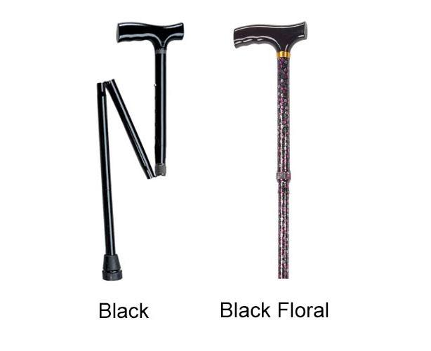 Folding Cane, Height Adjustable