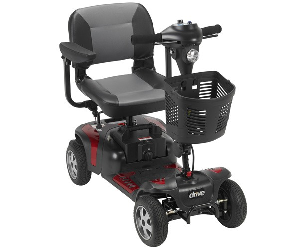 Drive Medical Phoenix 4 Wheel Heavy Duty Scooter