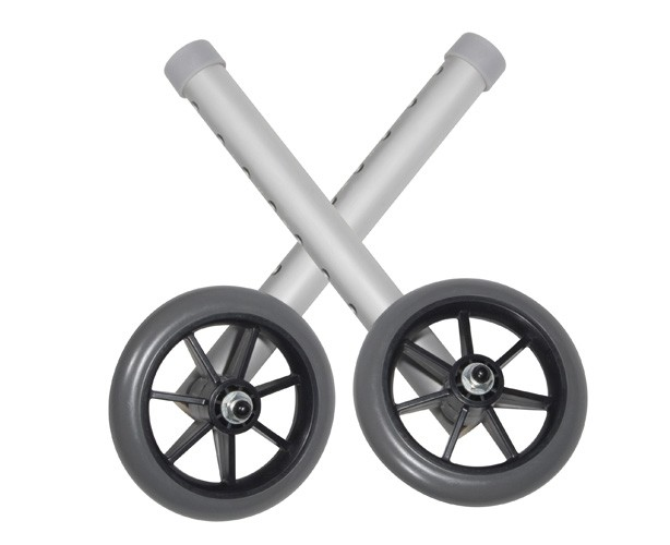 5 Inch Universal Walker Wheels