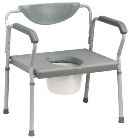 Drive Medical Deluxe Bariatric Commode