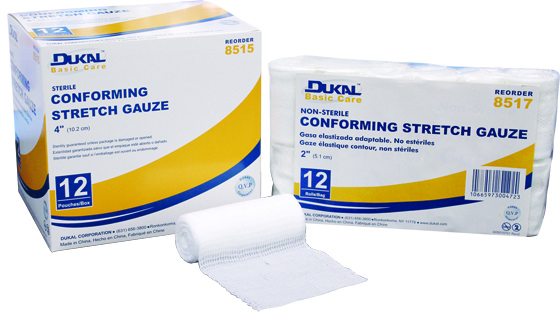 Dukal Basic Conforming Stretch Gauze Bandages
