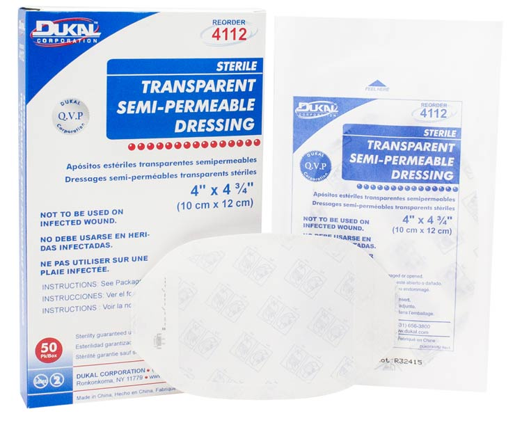 Dukal Dukal Transparent Semi-Permeable Dressing