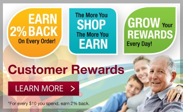 Earn 2% Back on Your Order
