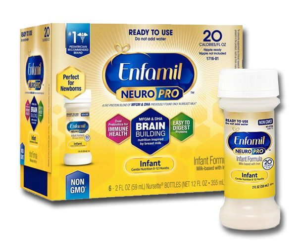 Mead Johnson Enfamil NeuroPro Infant Formula, Ready to Use